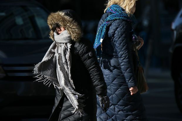 Record cold likely Thursday; wind chills below zero. But it's not going to last.