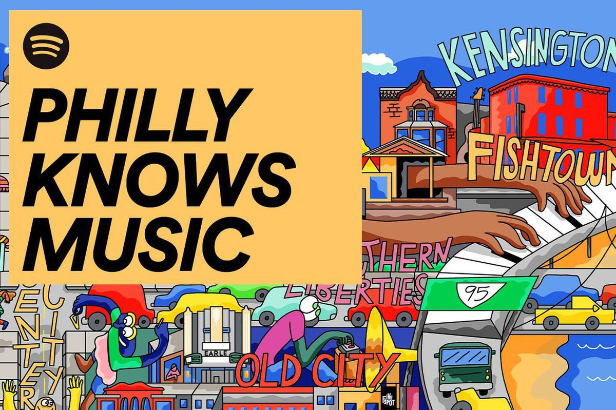 Jawn appears in more than 3,000 Spotify playlists, and other highlights of Spotify's 'Philly Knows Music' campaign