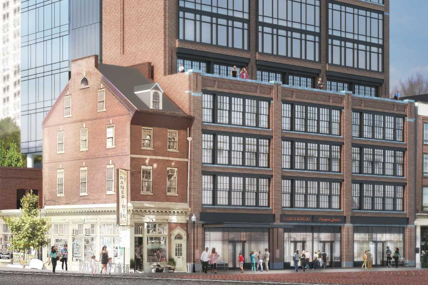 Toll Bros. shrugs off call for Jewelers Row preservation in condo plan