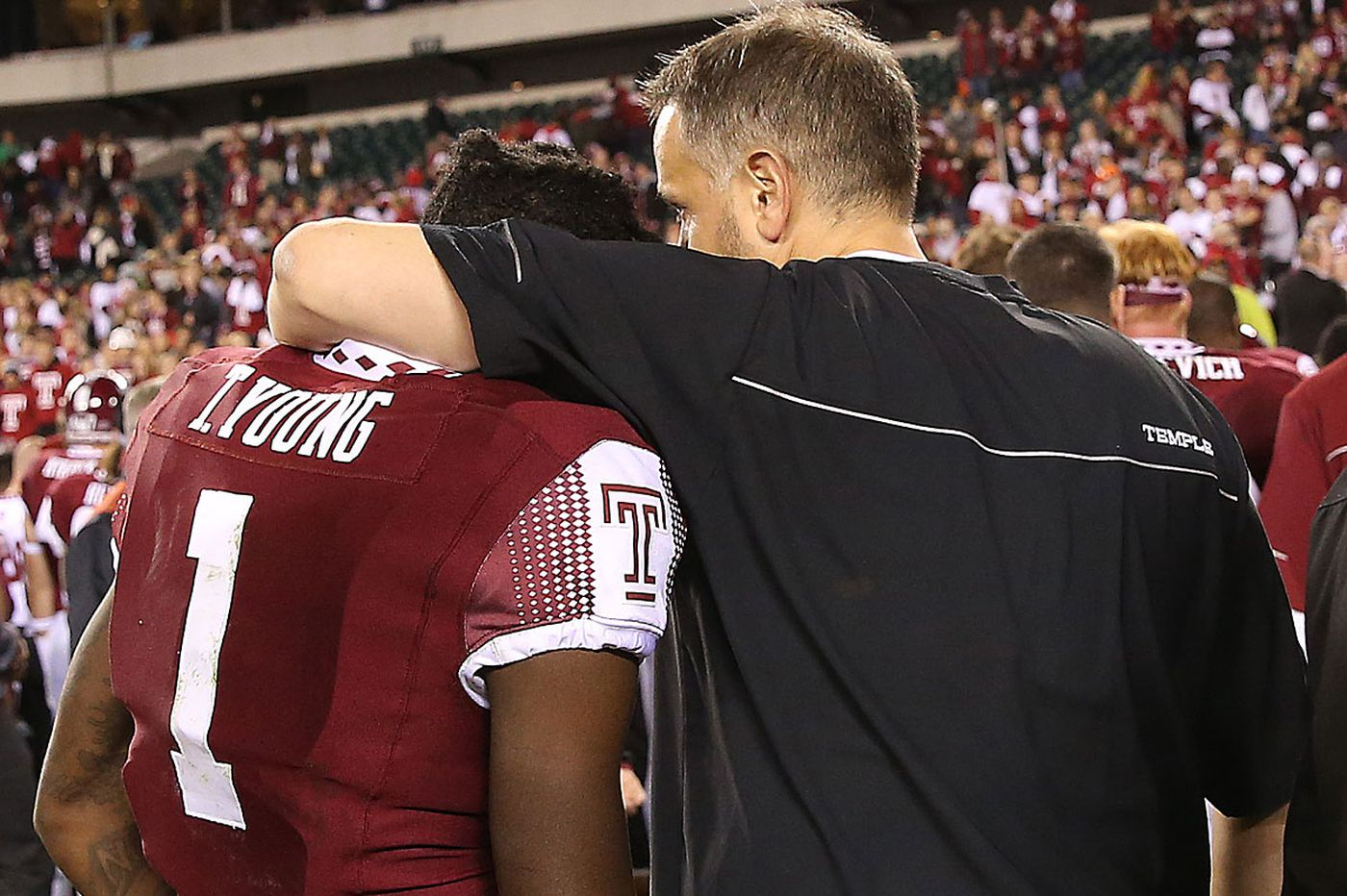 Temple's Rhule no longer talking with Missouri