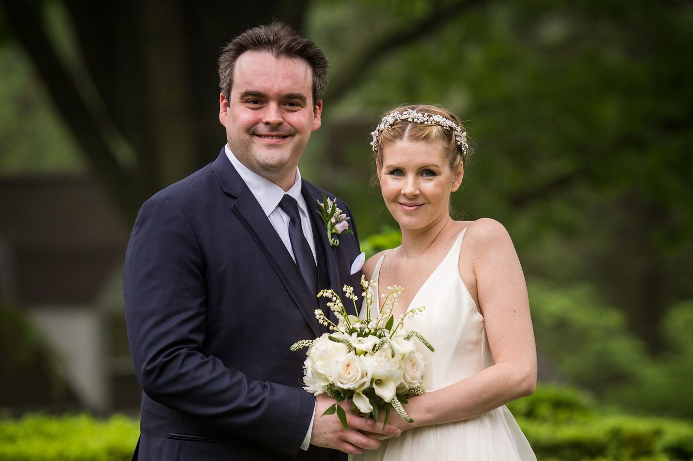 Philadelphia weddings: Kerry Hansen and Matthew Furey
