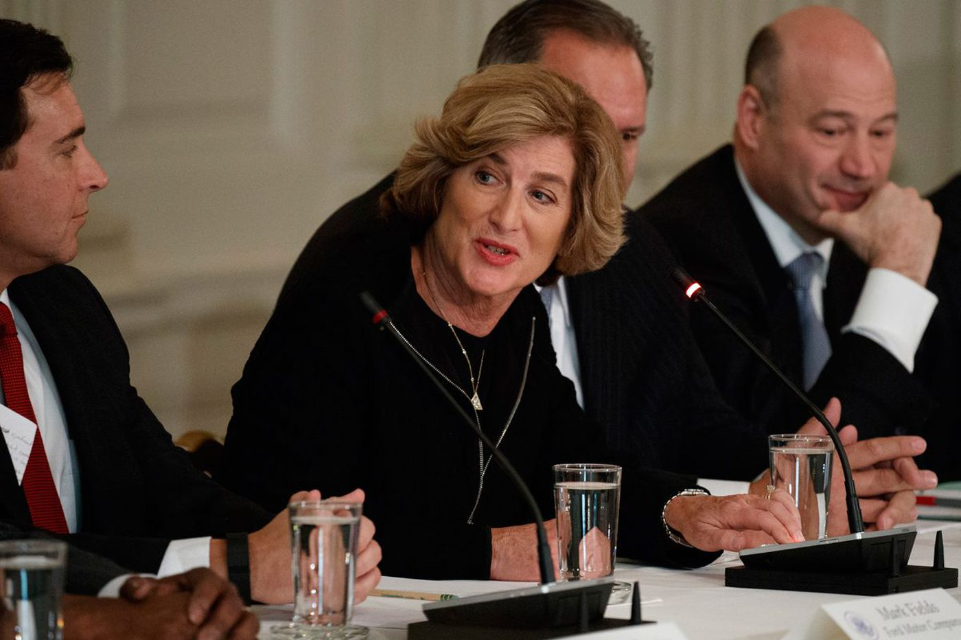 As 4th CEO quits Trump council, pressure heats up for Campbell Soup executive