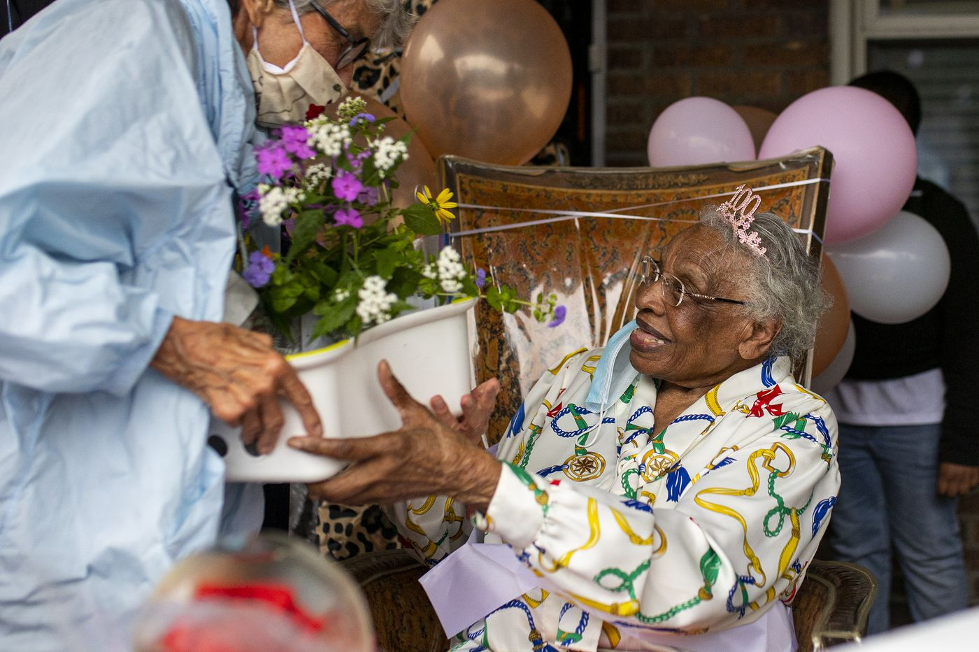 Ms. Rena shares her secrets to living to 100 in the age of coronavirus
