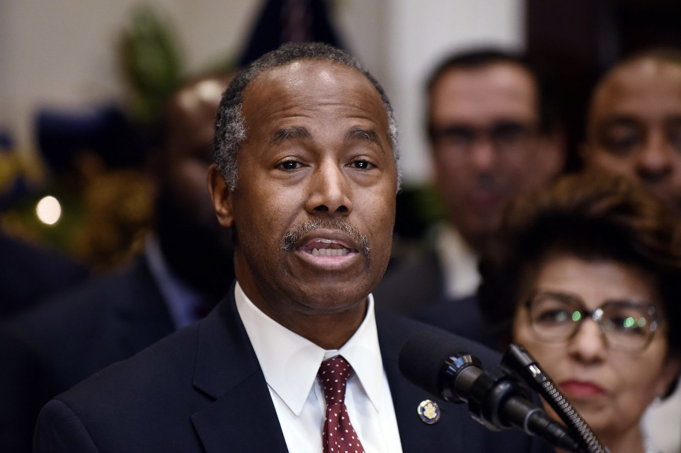 Ben Carson misheard a housing term as 'Oreo,' and other tense moments