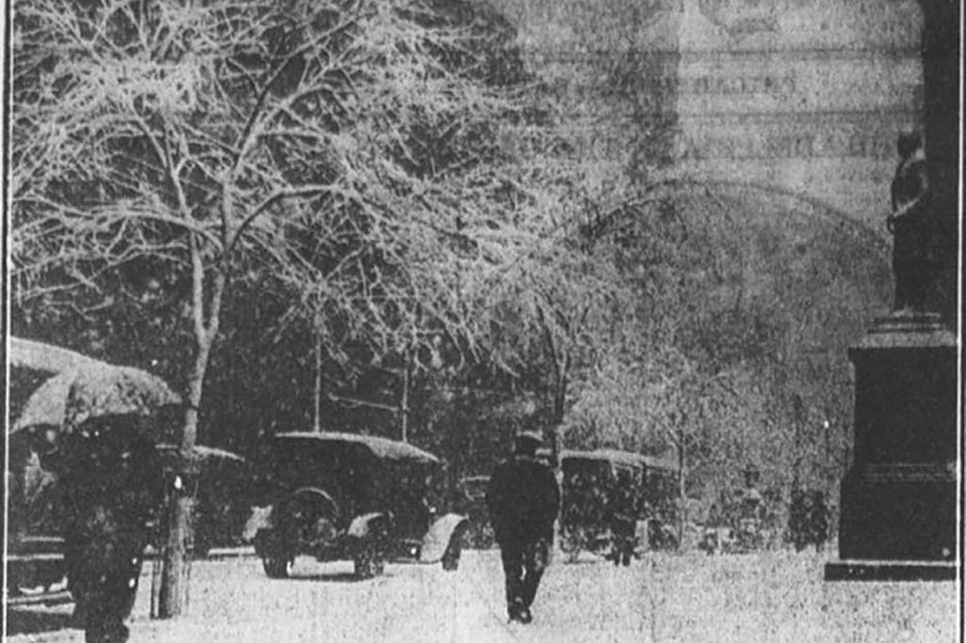 Easter whiteout: The improbable blizzard of 1915