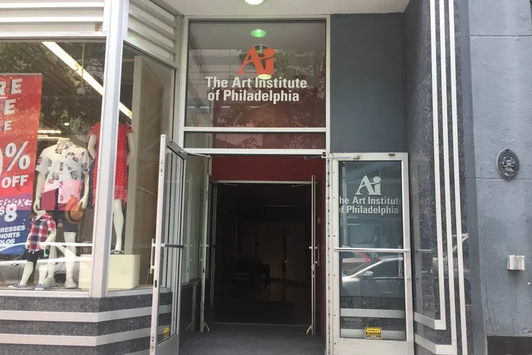 The Art Institute of Philadelphia has stopped accepting new students and told city and state officials that it is closing on Aug. 28.