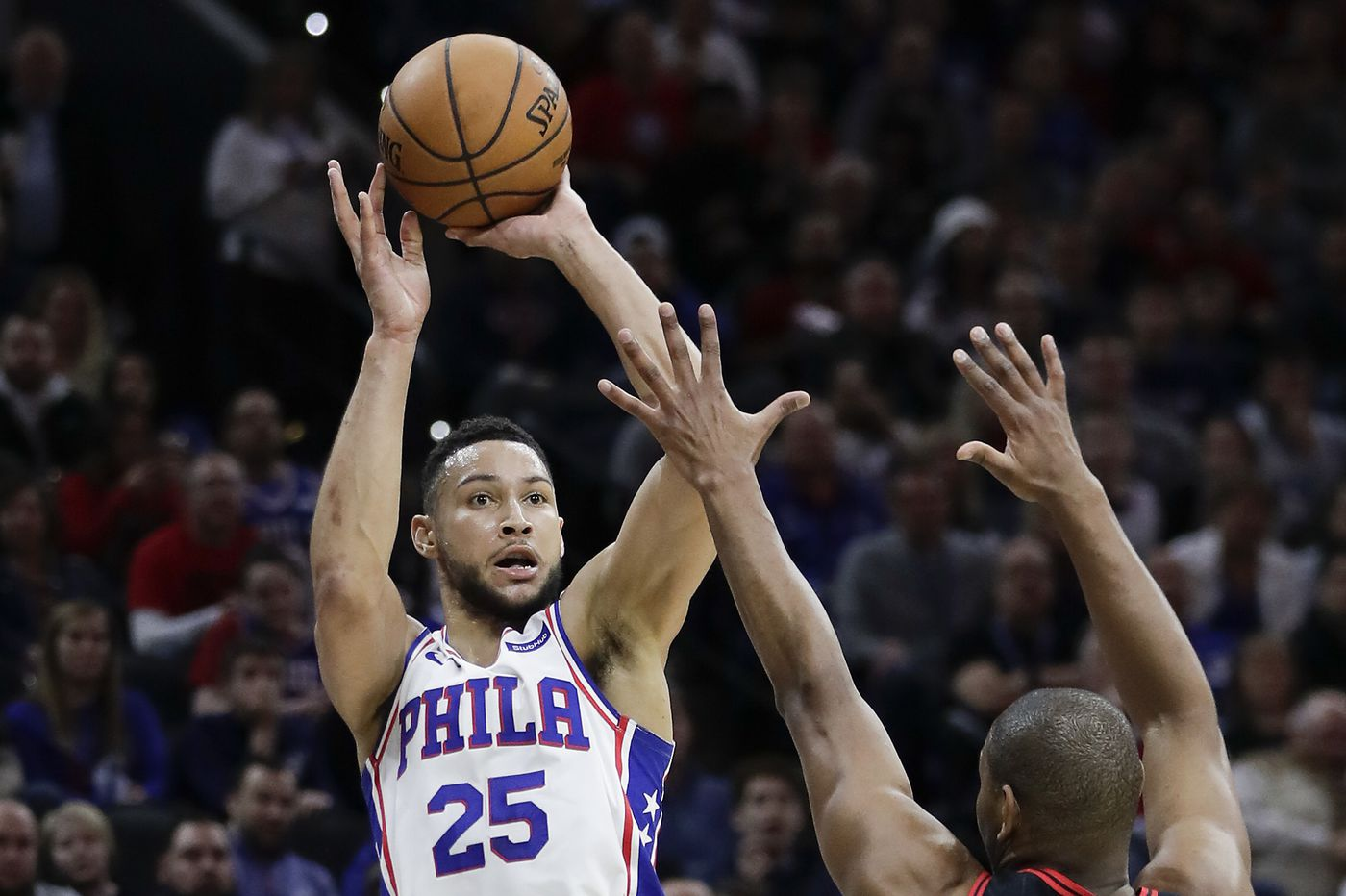Will Ben Simmons finally unveil his jump shot in Orlando? If so, it could boost the Sixers' playoff odds. | David Murphy