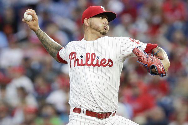 Phillies activate Vince Velasquez, place him in bullpen