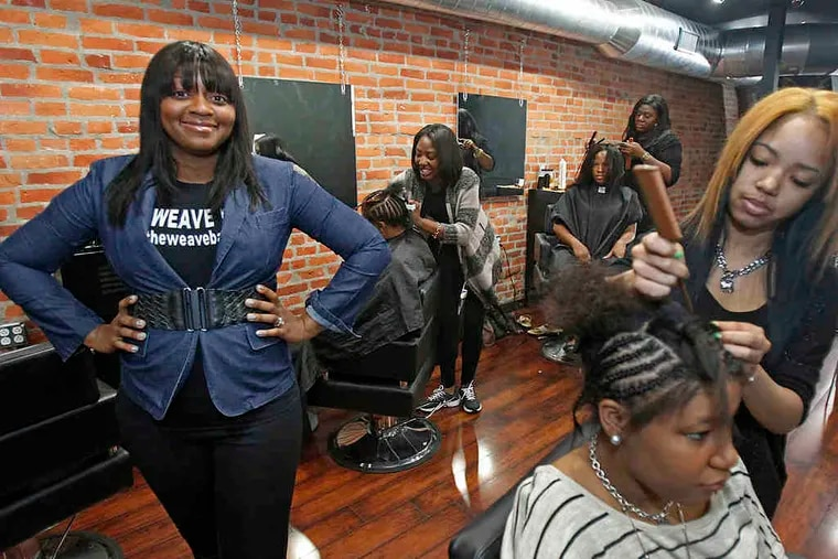 Yolanda Bailey's salon, the Weave Bar, draws customers by doing a full weave in just 90 minutes at prices starting at $50. It appeals to women who had been spending hundreds of dollars and hundreds of hours on extensions.