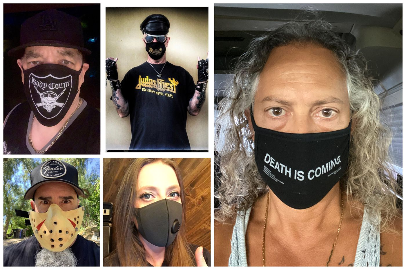 Metalheads in masks: Philly's headbangers started a movement that's gone global.