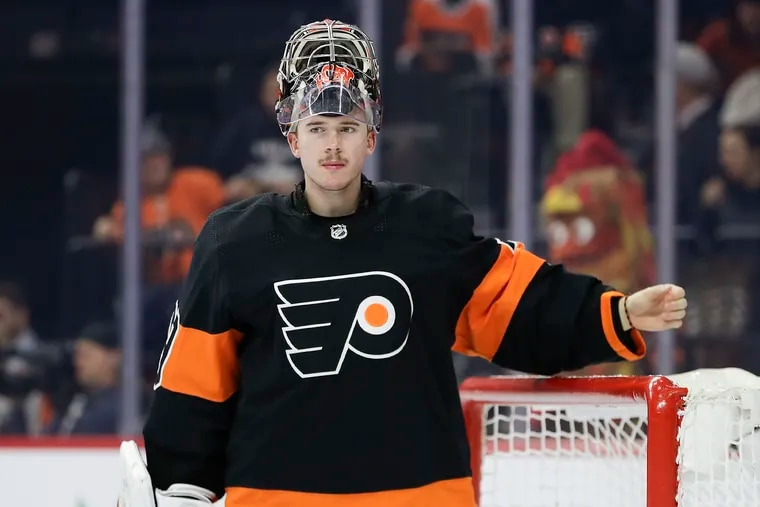 Carter Hart and the Flyers will open the 2020-21 season on Jan. 13 at home against Pittsburgh. The Flyers goalie was 10-2-1 with a .922 save percentage last season against his seven rivals in the East Division.