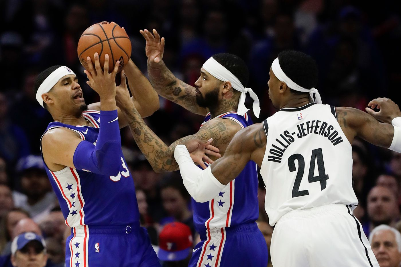 NBA playoffs: After historic win, Sixers say they won't be complacent in Game 3 vs. Nets