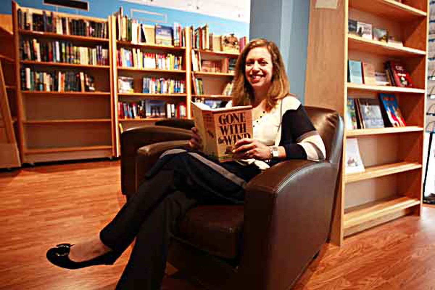 Independent bookstore in Bryn Mawr sees a niche