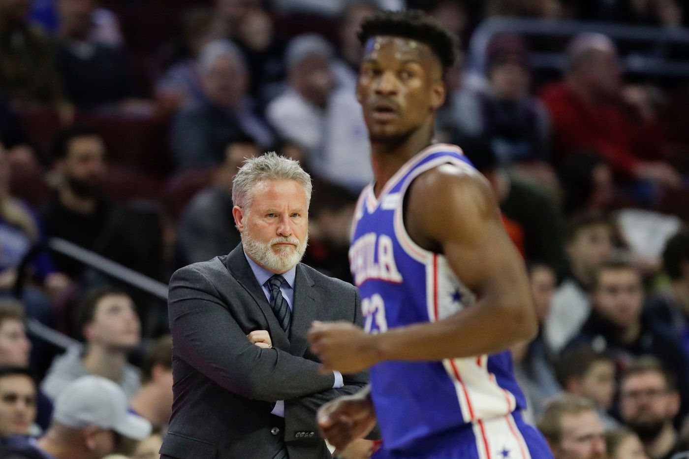 Brett Brown is on the hottest seat, the Sixers front office should feel some heat too | David Murphy