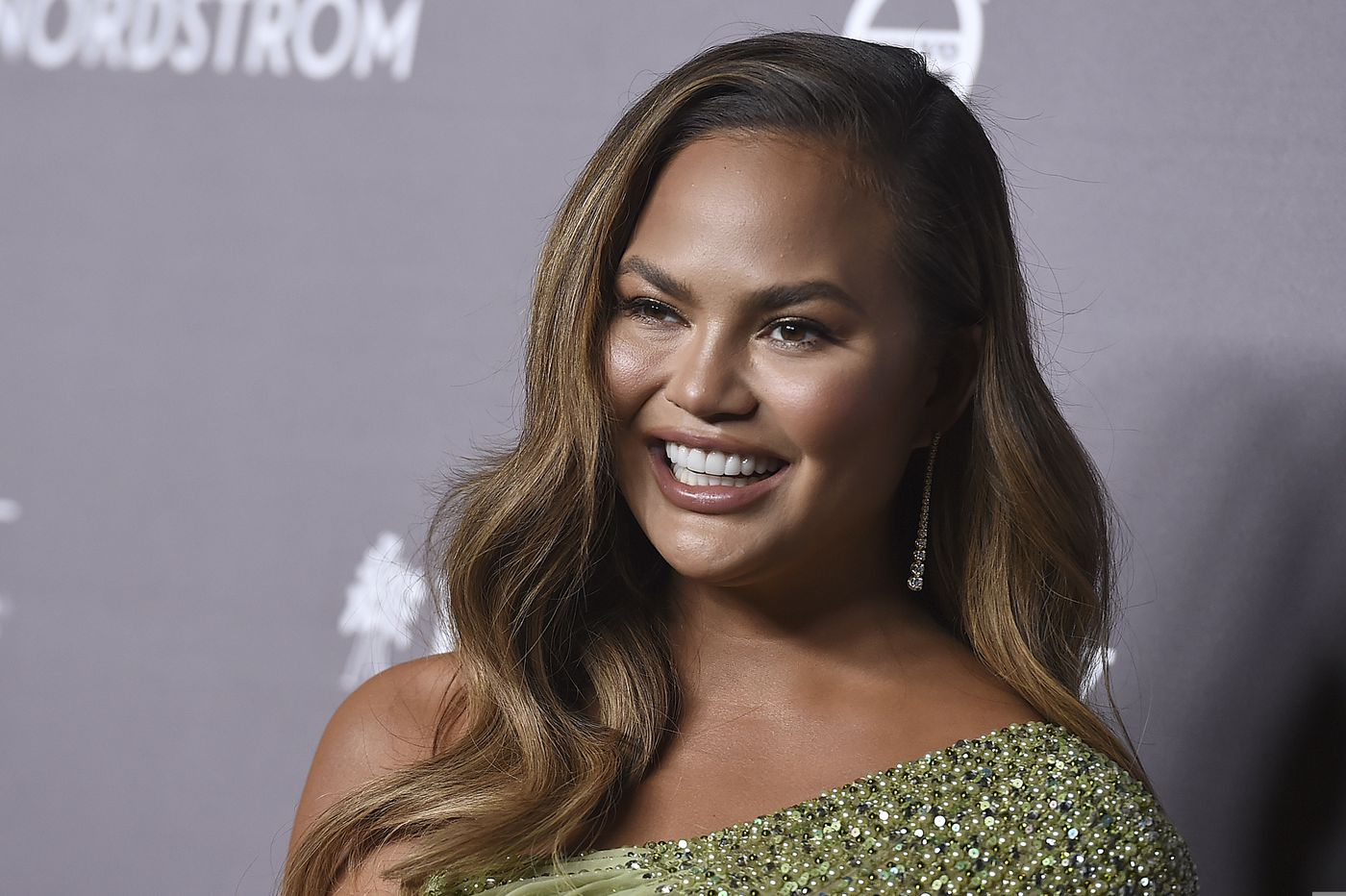 Chrissy Teigen tweeted a picture of her birthday present: a Pat's cheesesteak