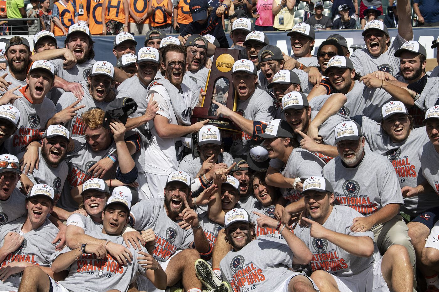 NCAA lacrosse championship: Virginia beats Yale, 13-9, for first title since 2011