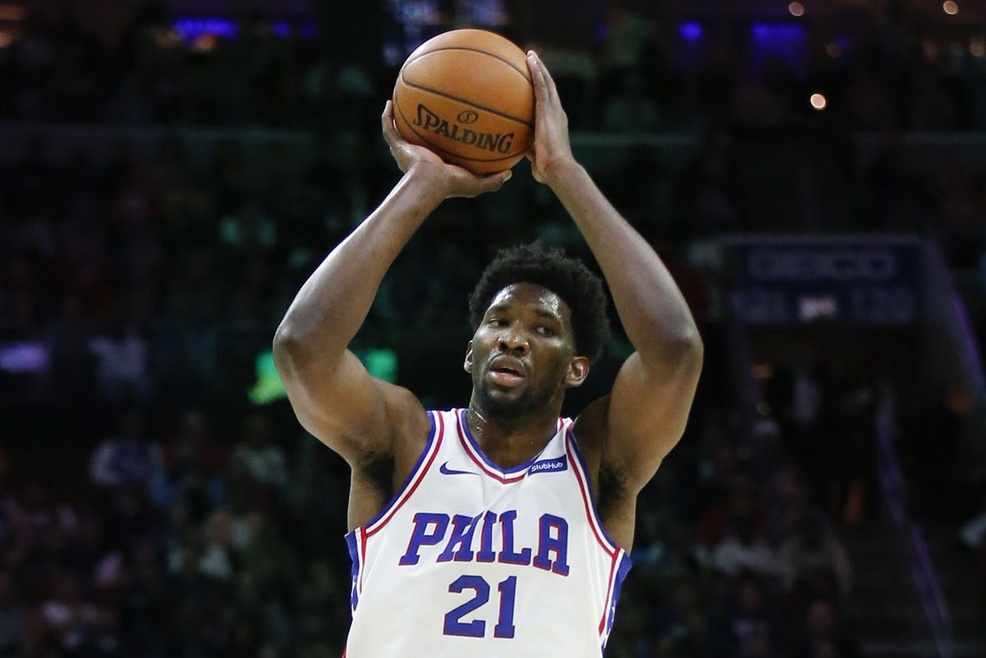 Sixers' Joel Embiid cleared to play for Monday night vs. Utah Jazz