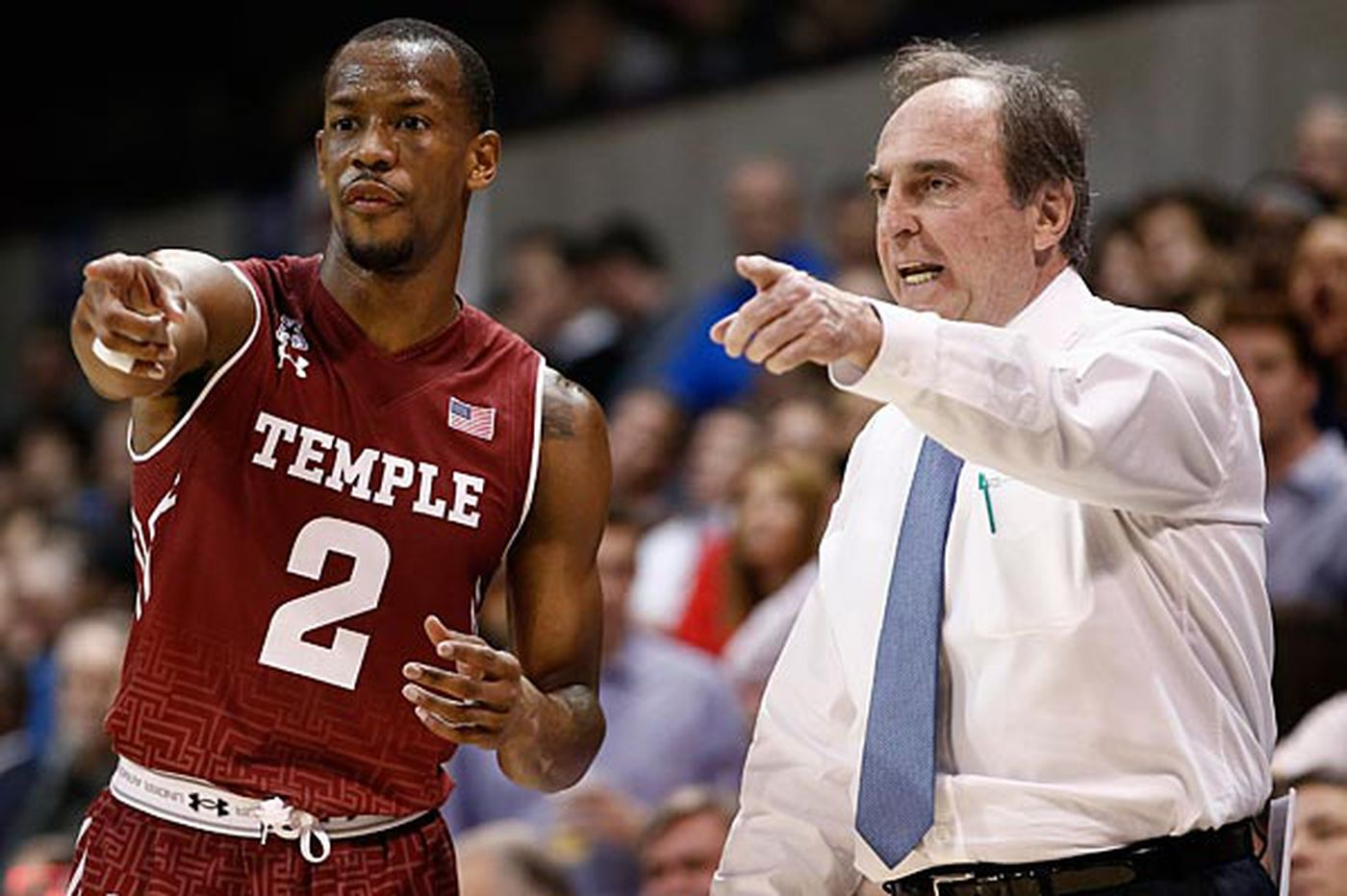 You knew Temple hoops was back from Game 1