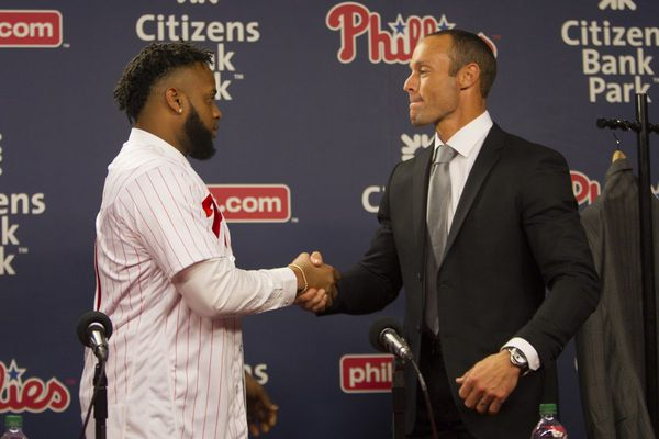 How the Phillies landed Carlos Santana, their biggest signing in years