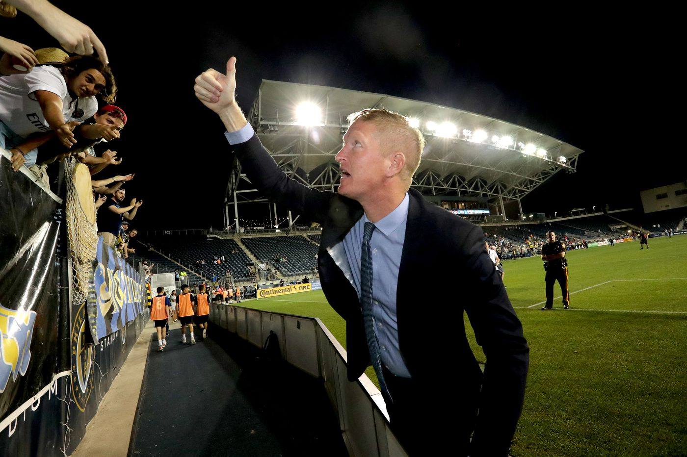 Union's Jim Curtin enjoying wins, family life during Philadelphia's renaissance