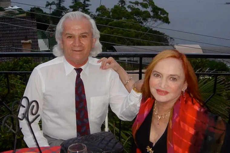 Athanasios Konidaris and his wife, 82-year-old Desitin heiress Shelley Upsher Konidaris (Thanasis Konidaris / FOR THE DAILY NEWS)