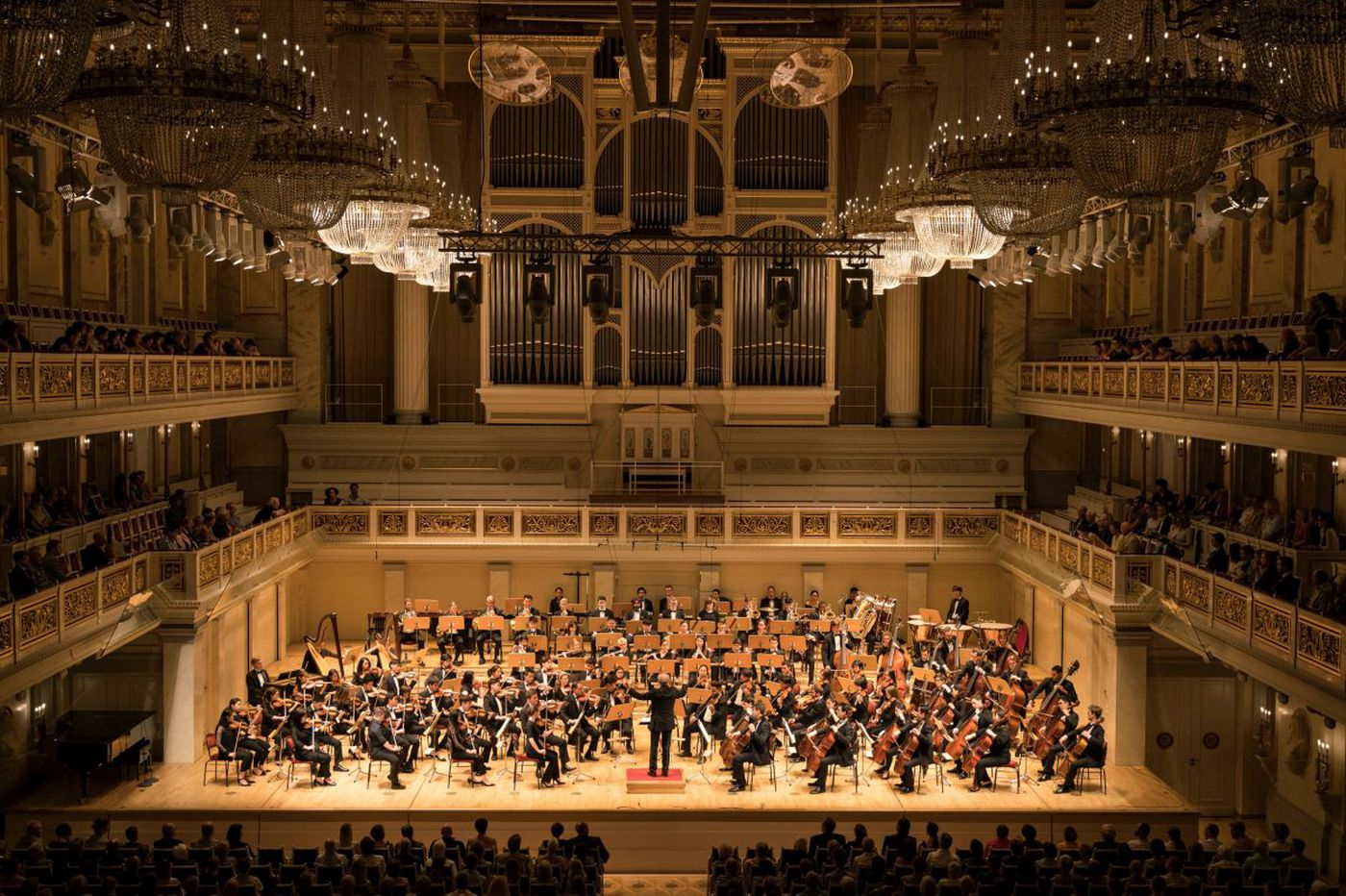 Curtis Symphony Orchestra has a whirlwind Tuesday in Berlin