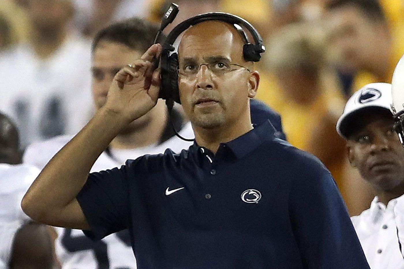 Franklin: Penn State seeks improvement on offensive line, field goal kicking