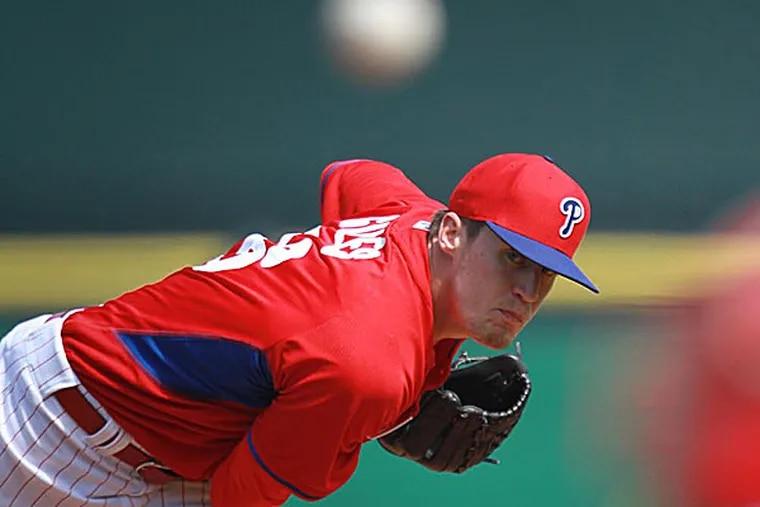 Phillies relief pitcher Ken Giles. (David Swanson/Staff file photo)