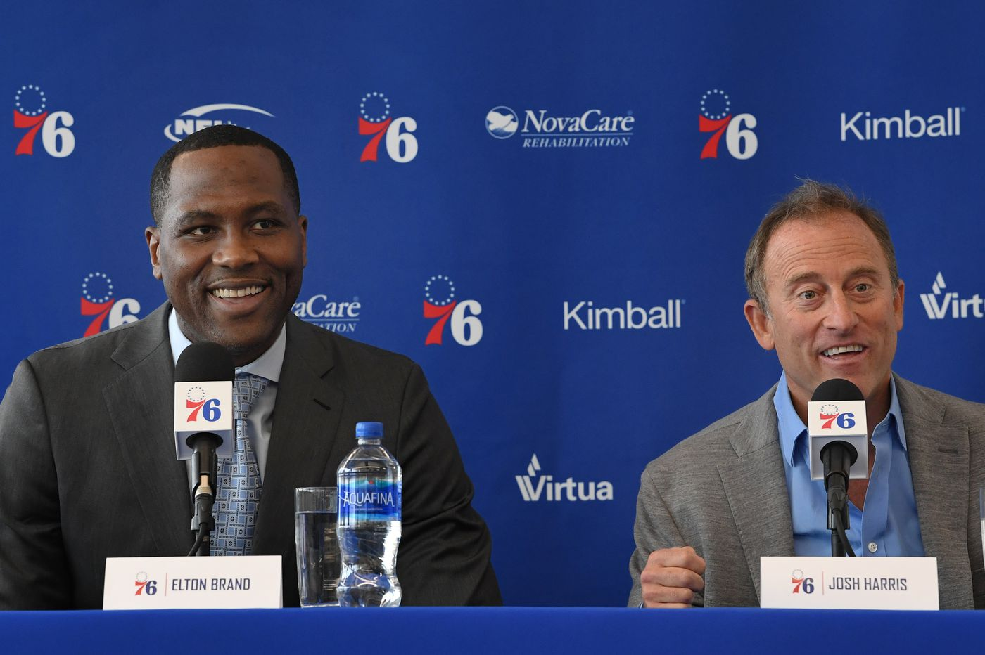 As Sixers GM, Elton Brand will take the heat that others didn't or wouldn't   Mike Sielski