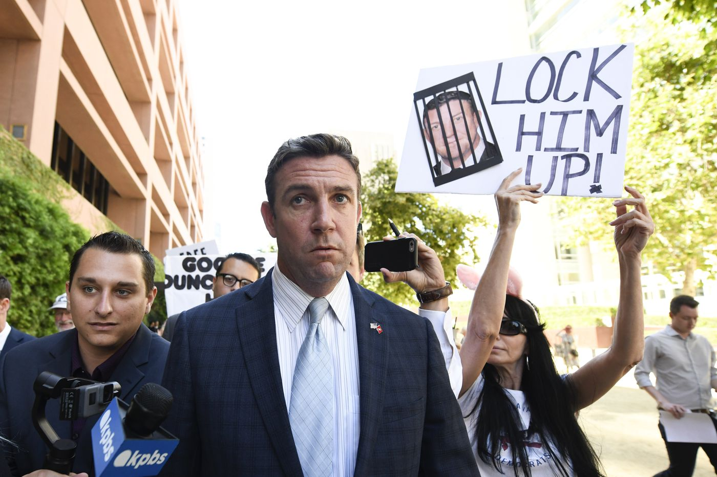 California congressman Duncan Hunter says he will plead guilty to corruption charges