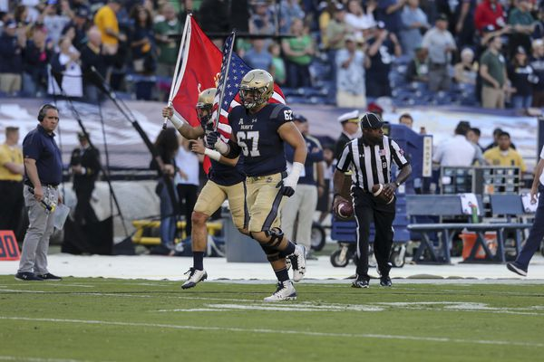 For Army and Navy football players, size is a weighty issue during and after their college football careers