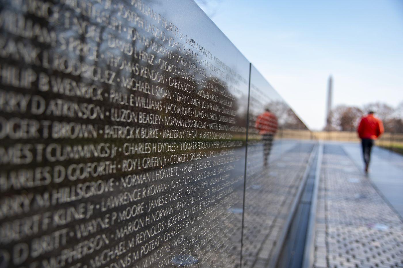 Audit finds misspellings, duplicates on Vietnam Wall