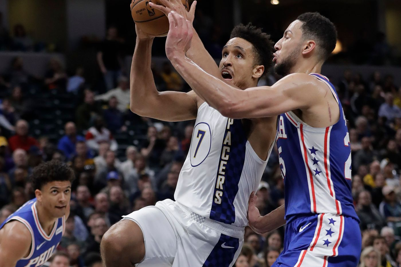 Sixers fall to Indiana Pacers, marking sixth straight road loss