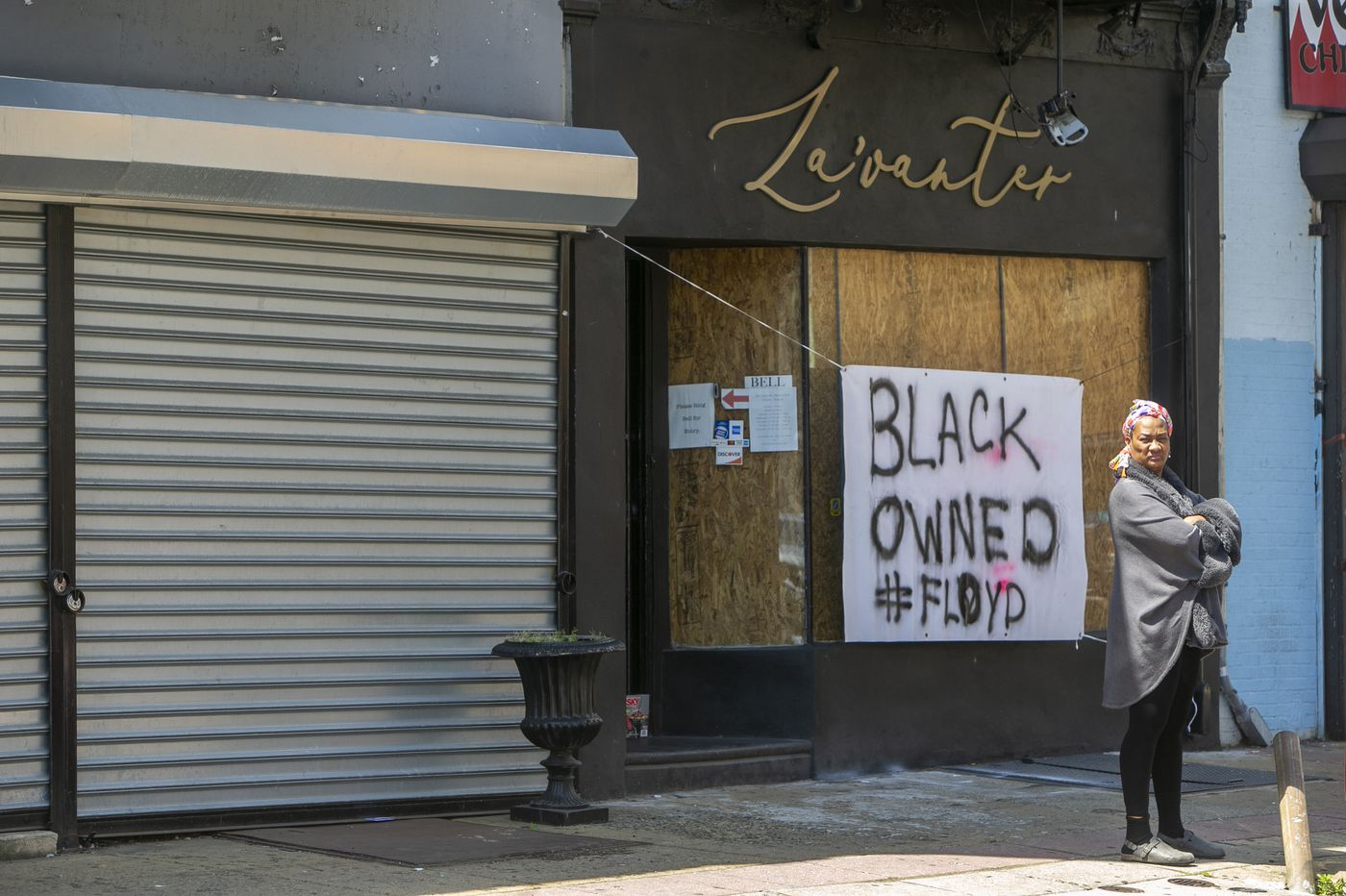 'Black owned don't loot:' For some business owners, signs show solidarity — and provide protection