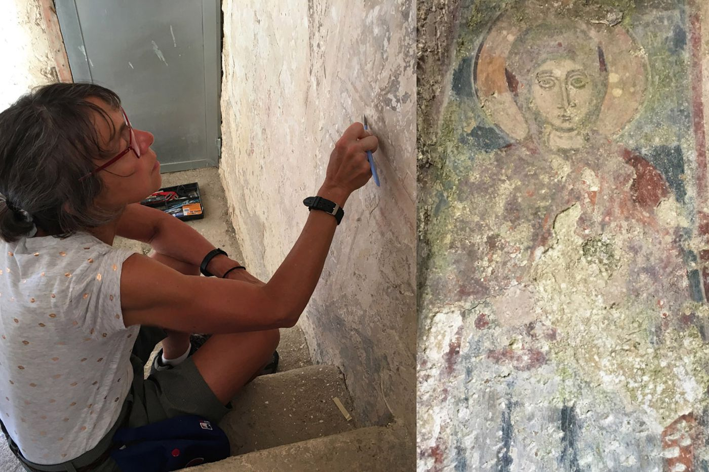 Personal Journey: In the boot of Italy, learning to restore frescoes