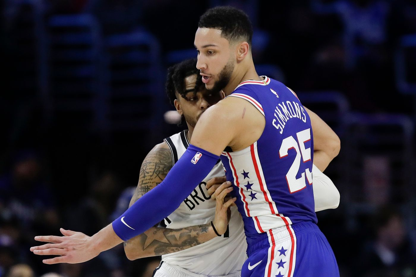Sixers-Nets observations: Ben Simmons' defense, Joel Embiid's quick thinking shine