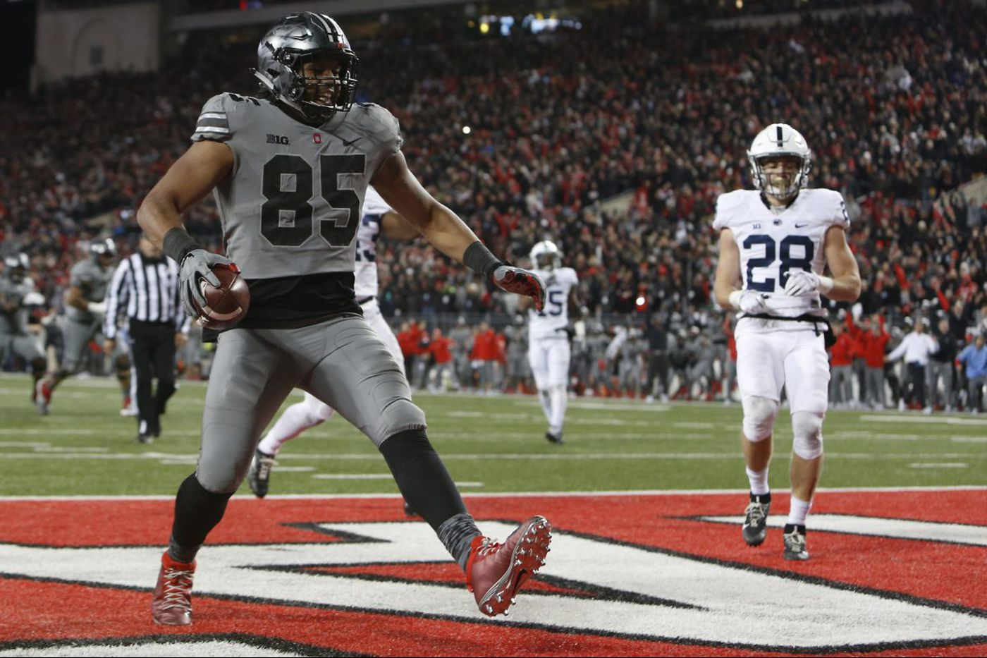No hanging on for Penn State at Ohio State