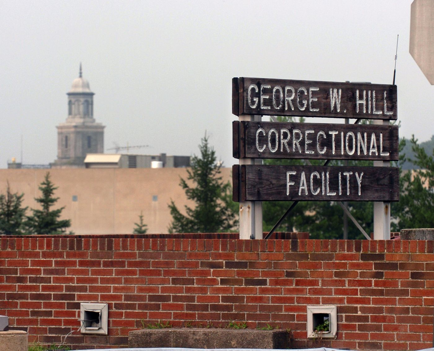George W. Hill Correctional Facility.
