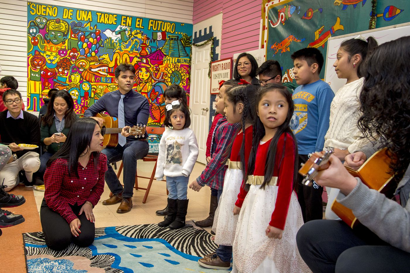 For immigrant families, a Mighty Writers Christmas fiesta lifts spirits after the hardest year | Mike Newall