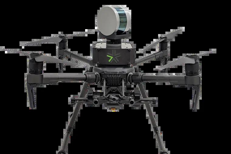 Exyn's autonomous aerial drone.