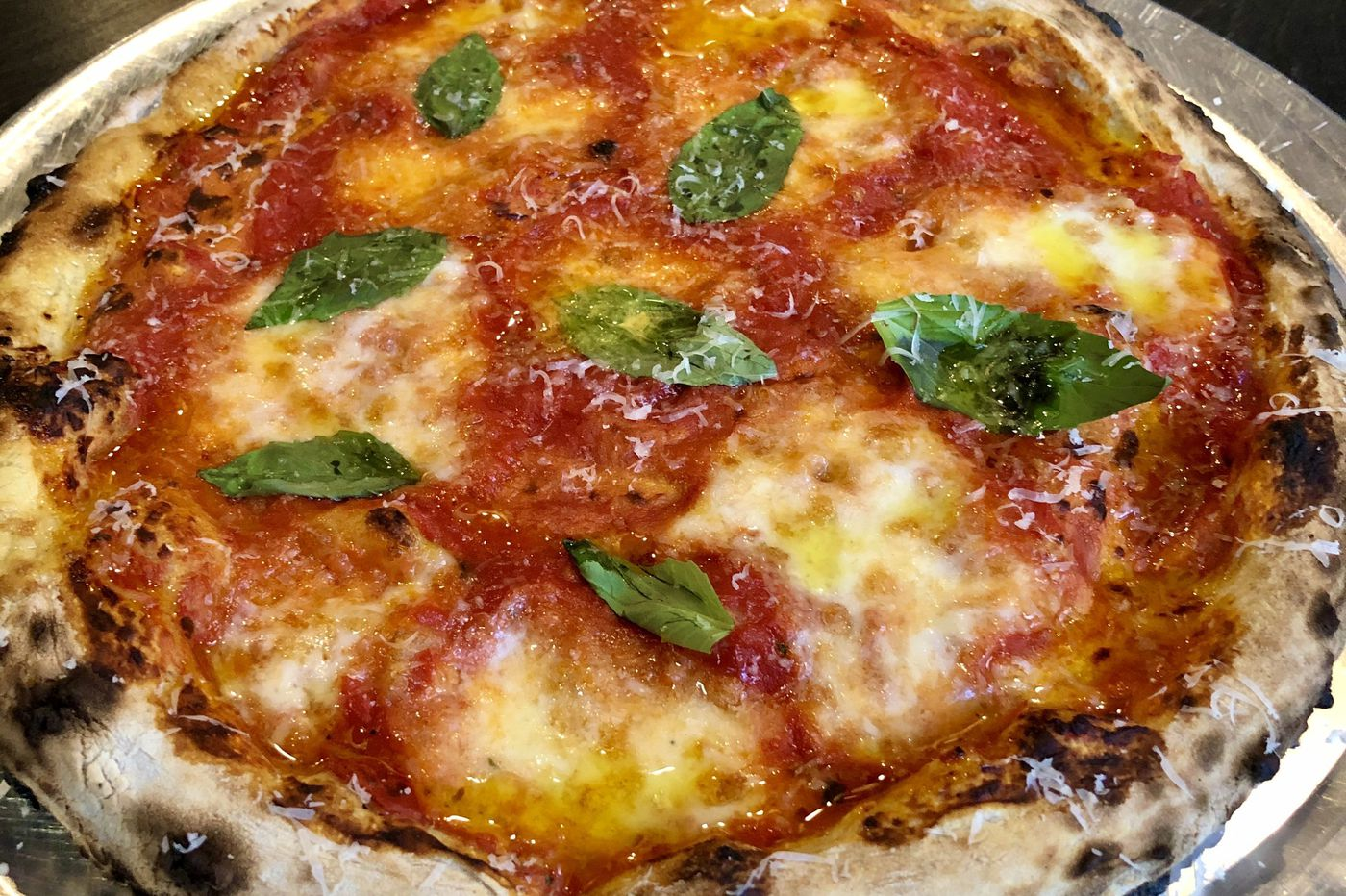 Gigi Pizza offers Neapolitan-ish pies next to Olly in Queen Village