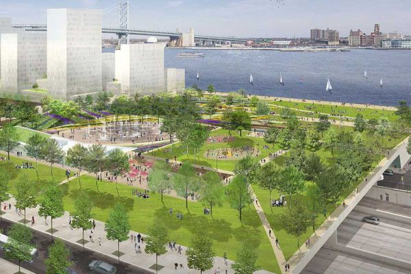 What's up with the I-95 overcap park?