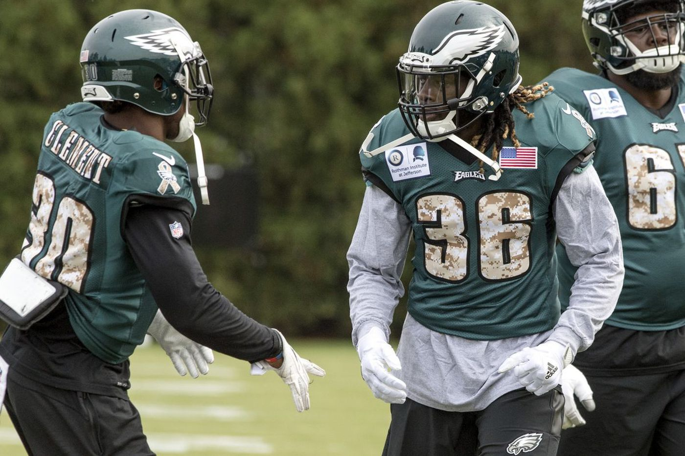 New Eagle Jay Ajayi unlikely to see lot of snaps this week