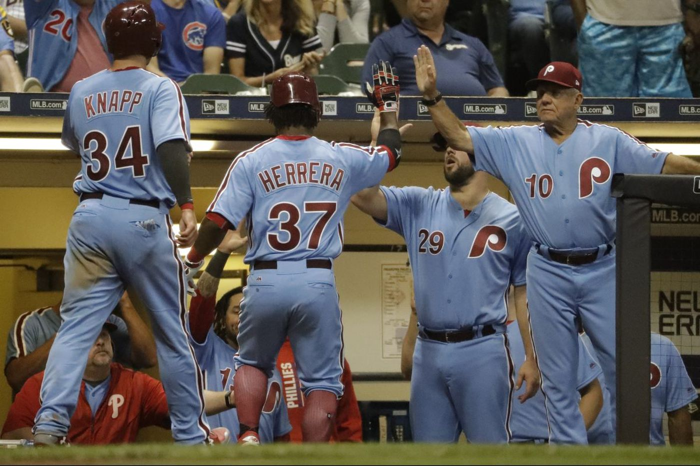 low priced 907f1 986b4 Phillies to wear powder blue uniforms at times this season