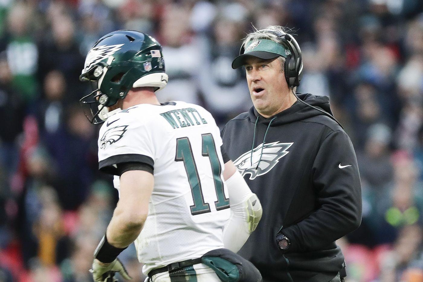Eagles keep an open mind as trade deadline nears