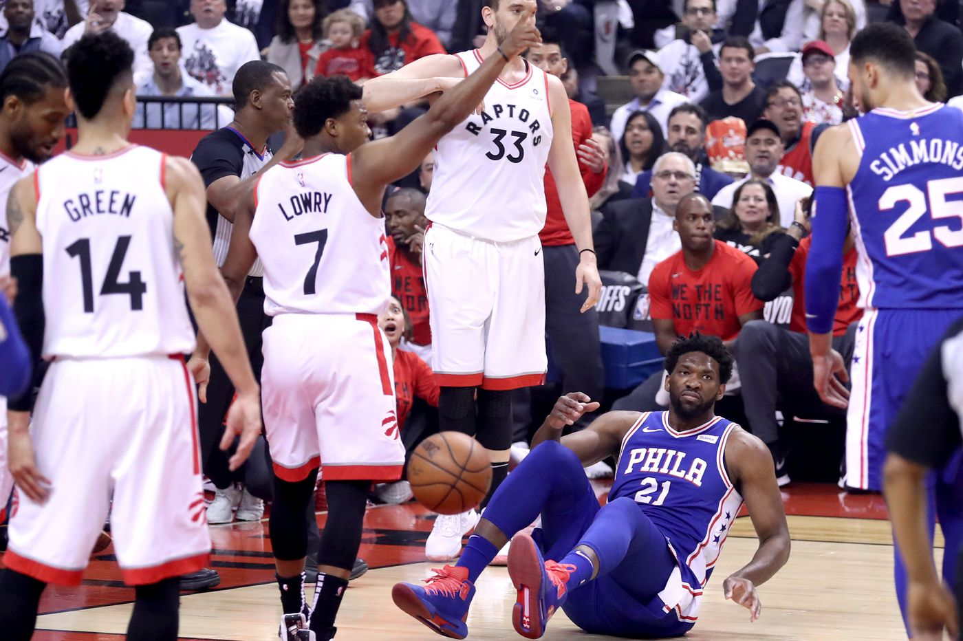 Joel Embiid led Sixers' surrender to Raptors in Game 5 of NBA playoff series   Marcus Hayes