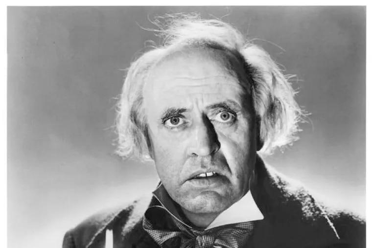 "Alastair Sim as the definitive Ebenezer Scrooge in the 1951 film, ""A Christmas Carol."""