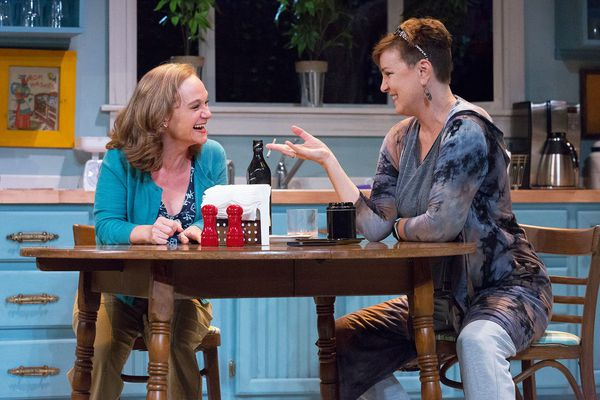 On stage at 1812 Productions: Two women in their 50s. Why that's more radical than it should be.