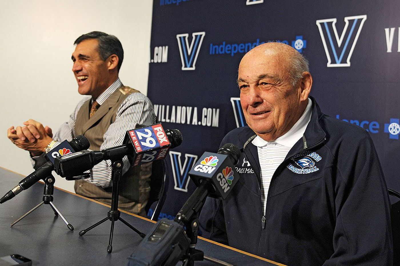 Jay Wright will always cherish his times with Rollie Massimino