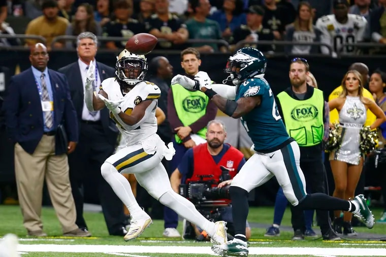 The Eagles' playoff game at the New Orleans Saints will be the fifth consecutive playoff game in which Philadelphia is a betting underdog. They have won the previous four outright.
